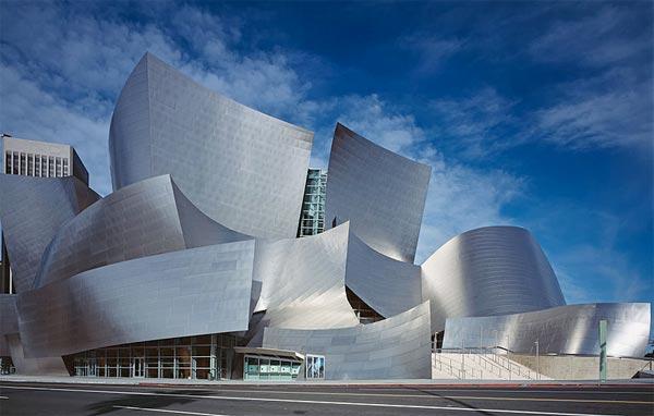 deconstructive architecture. 2003. Walt Disney Concert Hall, Los Angeles, California Deconstructive Architecture S