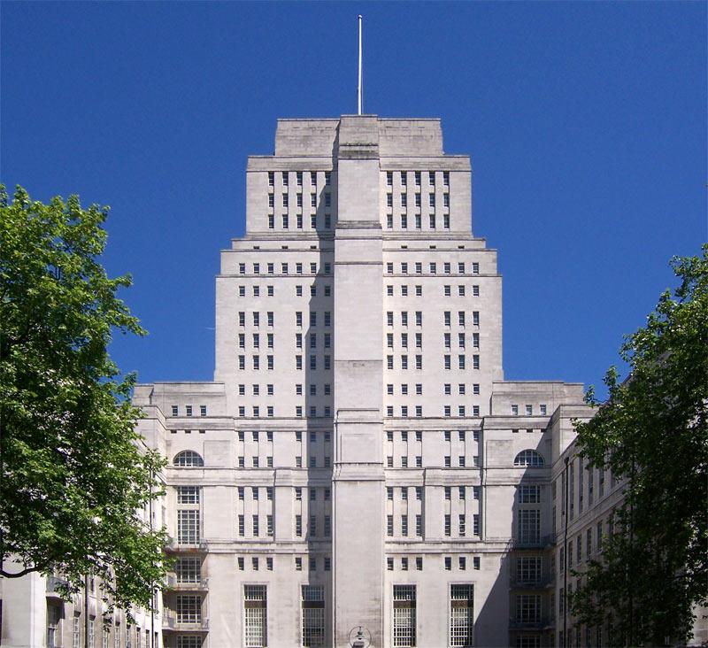 1933 1938 Hoover Building Perivale Londyn Wallis