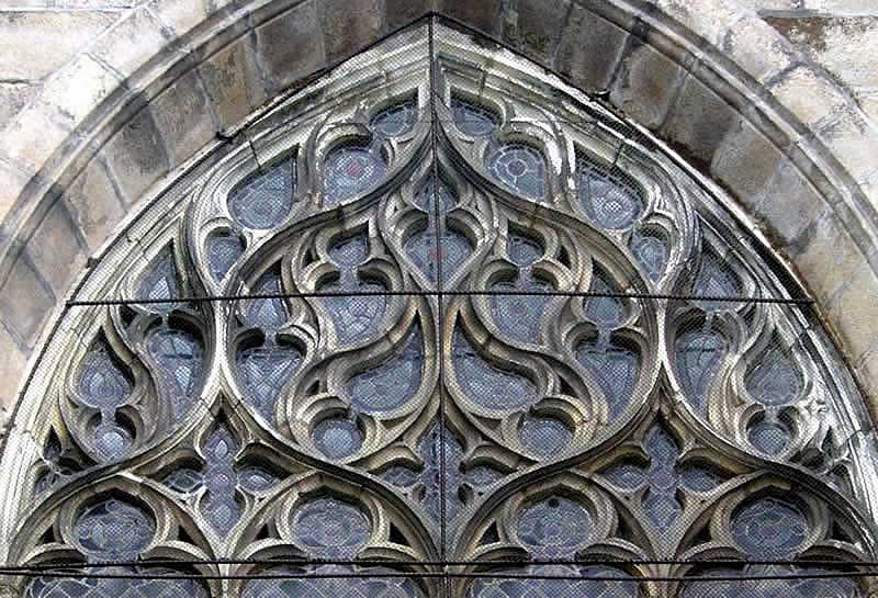 Historiasztukipl Ilustracje STYLE GOTYK Detal Limoges Flamboyant Tracery